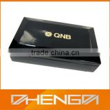 Personalized High Quality Wooden Tea Chest Box in Black (TB135)