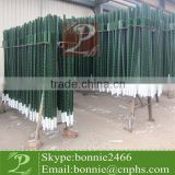 Barbed Wire Posts with Green painted (factory & trader)