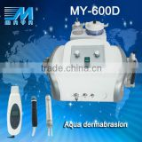CE approval certification MY-600D 3 IN1 ultrasonic pore cleanerfacial scrubber whitening beauty machine (CE)