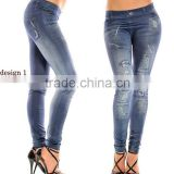 Cheap Price Slimming Thin Nine Minutes of Pants, Slime Sexy Jeans Leggings, Denim Pants for Women