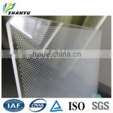 Light Guide Laser Dotting Acrylic Panel Good Transparency Chemical Stability and Weathering Resistance