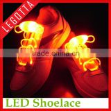 China wholesale fashion dancing sports entertainment lighting basketball led shoelace for sport