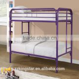 School triple bunk bed rail double decker metal bunk bed