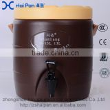 13L kitchen commercial bar shop store milk tea ice keep cold and warm stainless steel thermal bucket