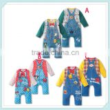 Mickey & Minnie autumn baby boys and girls long-sleeved printing trade Romper baby coveralls's clothing