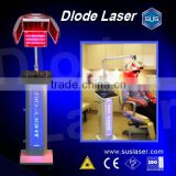 2013 hot! wholesale hair 650nm laser machine for bald head BL005 CE/ISO hair 650nm laser balding machine