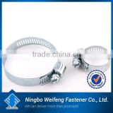 china clip manufacturers & suppliers Stainless mini america type perforated worm drive hose clamp zinc plated Hose Clamp