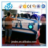 Professional cinema projector electric motion ride 9d VR Galaxy Spaceship cinema simulator