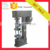 small hand / semi-automatic glass botle locking machine for bottle
