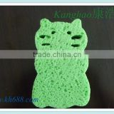 Baby bathing Natural Cellulose Sponge,compressed cellulose sponge, Cellulose cleaning sponge