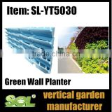 Alibaba China supplier Self watering hydroponic grow systems vertical Green Wall Gardening pots sol y206