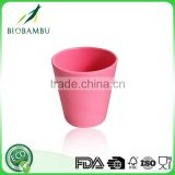 Wholesale eco-friendly bamboo fiber biodegradable desert cups for kids
