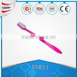 wholesale FDA approval hot selling cheap price best quality hard bristle travel set disposable hotel toothbrush with toothpaste