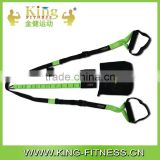 Factory sale yoga band belt suspension trainer exercise band