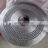 New design wood straw pellets making machinery spare parts pellet mill flat die