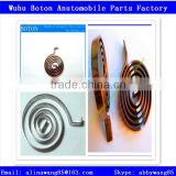 Adjustable Bimetal element Spiral Spring Thermostat Coils