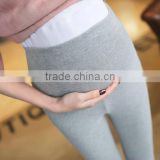 2017 New design custom wholesale causal cotton pregnant women maternity pants leggings