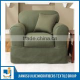 Promotional various durable using polyester suede fabric for sofa cover