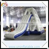 Commercial inflatable water slide, inflatable floating water park, floating water slide for water games