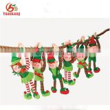 ISO9001 Baby Christmas soft elf plush toy/Christmas elf doll
