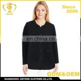 OEM factory price ladies casual long sleeve woman clothes shirt cotton top