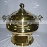 Brass Food Warmer Chafing Dish