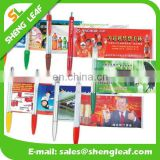 Can makes an ideal marketing tool in lumpy mail paper scroll pen
