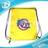 Cheap Cutom Logo Printing Polyester Sports String Bag