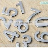 High quality Stainless Steel Sheet metal stamping Hotel Room Door Numbers
