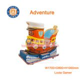 Zhongshan amusement park equipment kiddie rides for kids, Adventure, coin operated, swing game machine, rocking car