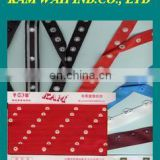 8mm size of Kam plastic snap tape button