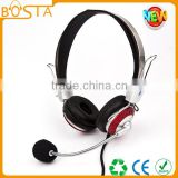 Wholesale price bulk sale funny popular trendy computer headphone for students