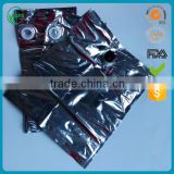 Factory direct custom size aluminum foil wine bag in box 3L/5L/10L
