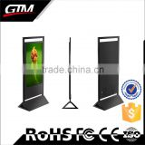 55inch all on pc touchscreen monitor led commercial advertising display screen photo booth stand shop display touch screen kiosk
