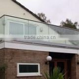 tempered glass balcony (safe and good looking )