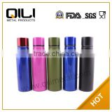 600ml double wall stainless steel colourful best selling products custom sports water bottles