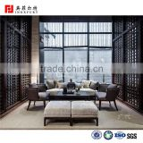 Luxury Decorative Stainless Steel interior folding screen living room divider Partition curtain home bath room partition panels                                                                                                         Supplier's Choice