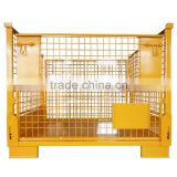 Collapsible and Foldable Metal Steel Wire Mesh Pallet Cage with High Quality