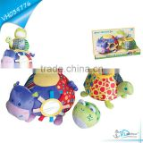 High Quality Soft Plush Baby Toy Cow Turtle Frog
