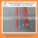 colorful,smooth,strength Surface Treatment and are widely used as plant stakes Application fiberglass support pole