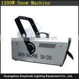 Special stage effect snow machine , Snow Spray effect 1200W Wire control ( Remote control can be customize )