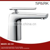 Elegant brass bathroom basin faucet with upc cartridge SD-101
