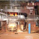 Small DC Electric arc furnace (EAF) for cast-iron scrap