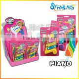 Piano music instrument toy candy