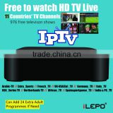 Iptv box indian channels RK3229 Quad core Android 4.4.2 2.4GHz WiFi H.265 60tps KODI XBMC