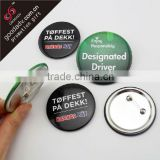 2014 hot selling fashion Customized logo badges / Custom novelty badge