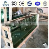 best quality 12mm thick tempered glass dining table / imported Toughened glass dining table