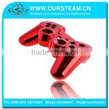 Custom Red Chrome Shell for PS3 Chrome Housing for Playstation 3 Controller Full Shell Plus Full set Buttons