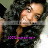 Alibaba express natural loose wave, Peruvian human hair top closure lace wigs lace front wigs