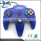 Blue Game Controller for nintendo 64 for n64 joystick for n64 controller